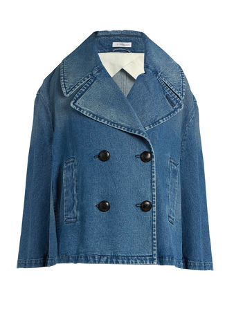 J. W. Anderson Oversized double-breasted denim jacket
