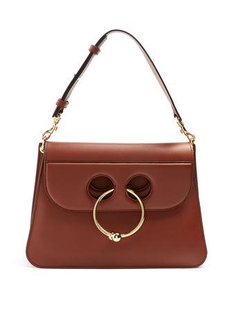 J. W. Anderson Pierce medium embellished leather shoulder bag