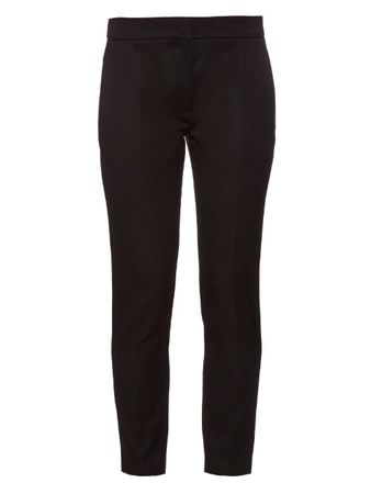 La Mania Vic tailored wool trousers black