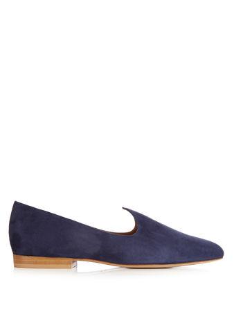 Le Monde Beryl Venetian suede slipper shoes