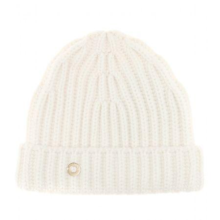 Loro Piana Inglese Cashmere Hat white
