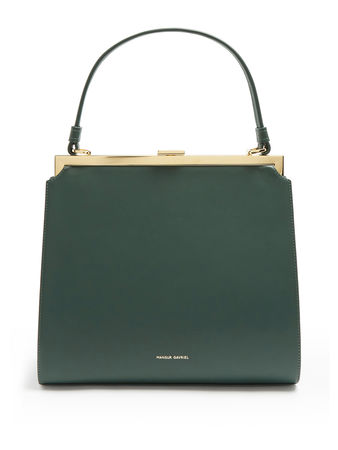 Mansur Gavriel Elegant top-handle leather bag