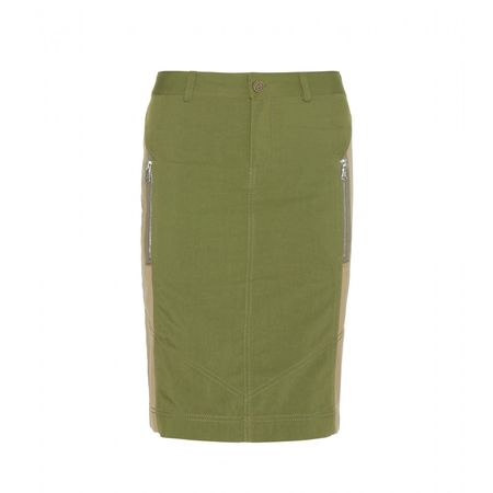 Marc by Marc Jacobs Army Skirt green