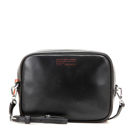 Marc by Marc Jacobs Camera Leather Shoulder Bag black