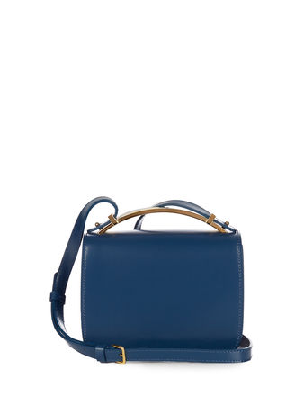 Marni Sculpture leather cross-body bag