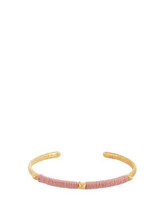 Marte Frisnes Dido gold-plated cuff