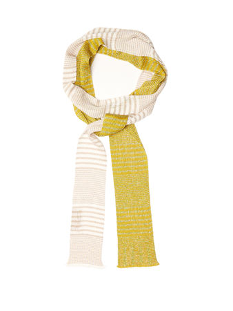 Missoni Bi-colour fine-knit scarf