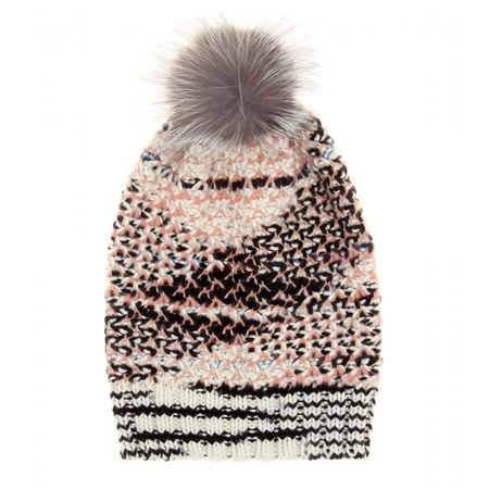 Missoni Cashmere And Wool-blend Hat gray