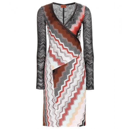 Missoni Crochet-knit Dress gray