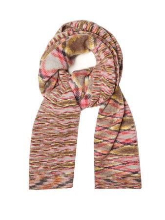 Missoni Geometric-instarsia alpaca-blend scarf