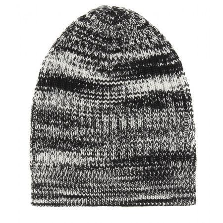 Missoni Knitted Wool Hat gray