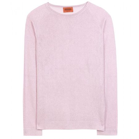 Missoni Metallic Sweater gray
