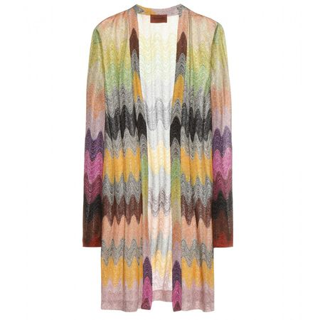 Missoni Printed Cardigan gray