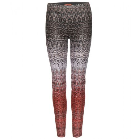 Missoni Printed Trousers gray