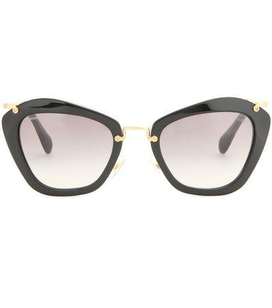 Miu Miu Cat-eye Sunglasses gray
