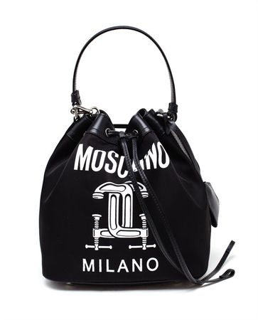 Moschino Bucket Bag black