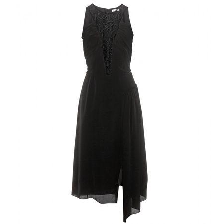Nina Ricci Embellished Halterneck Dress black