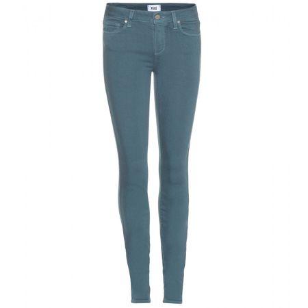 Paige Verdugo Skinny Jeans turquoiseblue