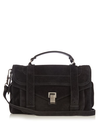 Proenza Schouler PS1 medium suede shoulder bag
