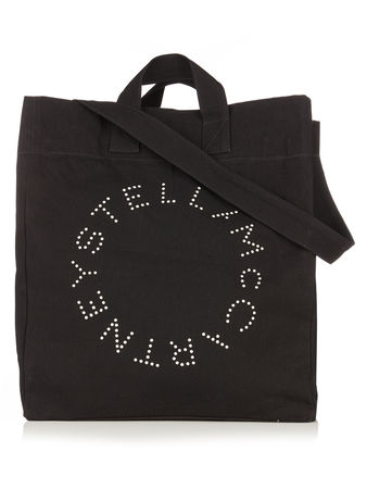 Stella McCartney Logo-print canvas classic tote
