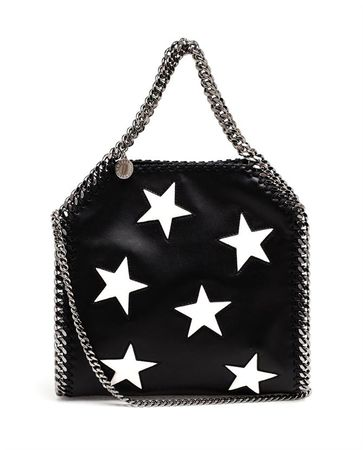 Stella McCartney Mini Falabella Star Bag black