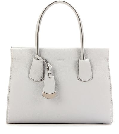 Tod's Leather Tote gray