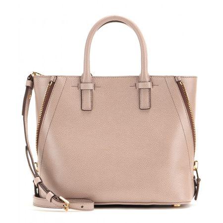 Tom Ford Jennifer Leather Shoulder Bag brown