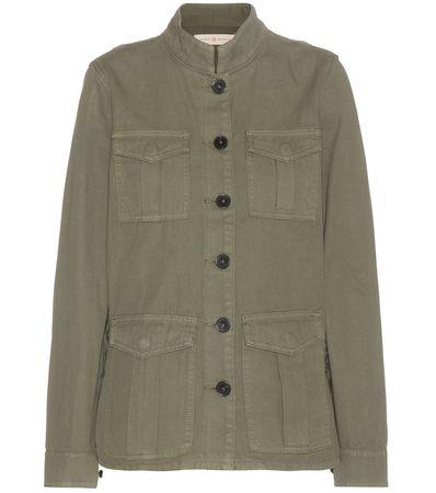 Tory Burch Cotton Jacket gray