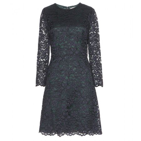 Tory Burch Lace Dress gray
