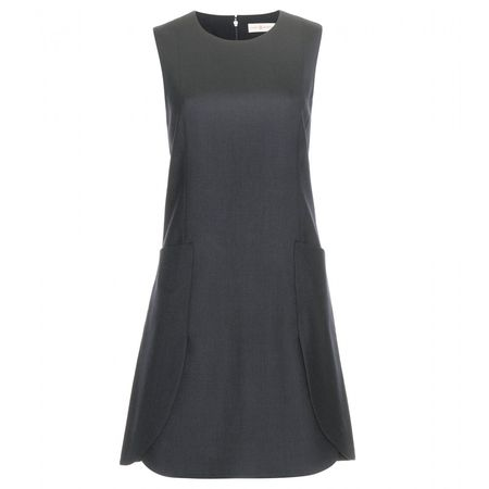 Tory Burch Wool Dress gray