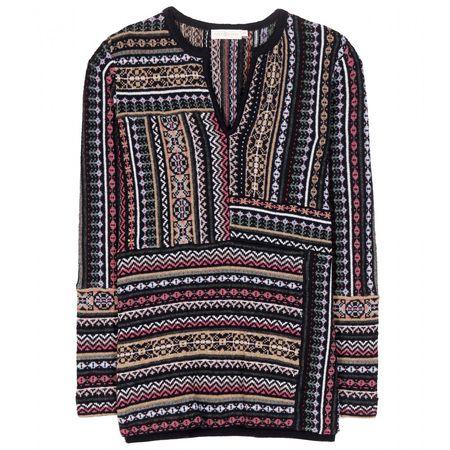 Tory Burch Wool Sweater gray
