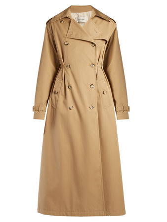 Valentino Rockstud Untitled #1 gabardine trench coat