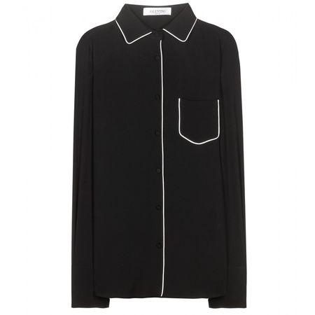 Valentino Silk Blouse black