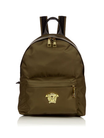 Versace Medusa-head nylon backpack