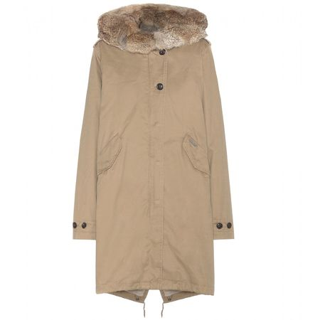 Woolrich Eskimo Fur-trimmed Parka brown