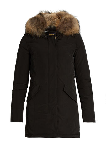 Woolrich Luxury Arctic fur-trimmed padded parka
